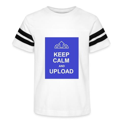 RockoWear Keep Calm - Kid's Vintage Sport T-Shirt
