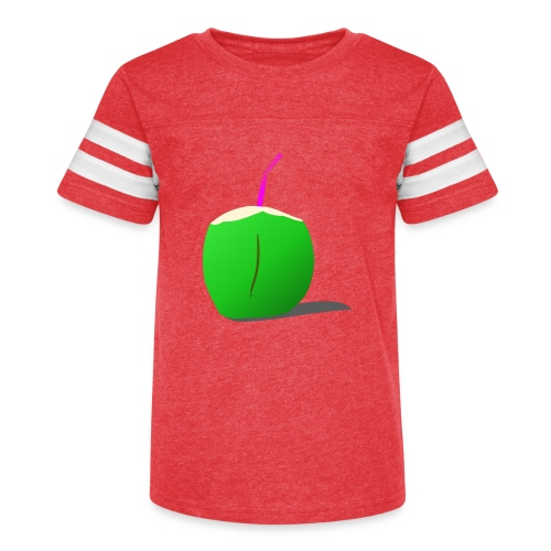 coconut - Kid's Vintage Sport T-Shirt