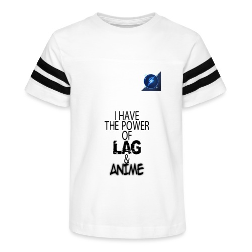 I Have The Power of Lag & Anime - Kid's Vintage Sport T-Shirt