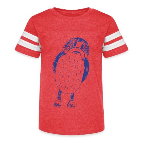 Stephen's hand drawn porg - Kid's Vintage Sport T-Shirt