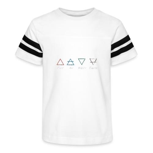 Elements - Kid's Vintage Sports T-Shirt