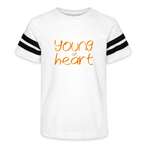 young at heart - Kid's Vintage Sport T-Shirt