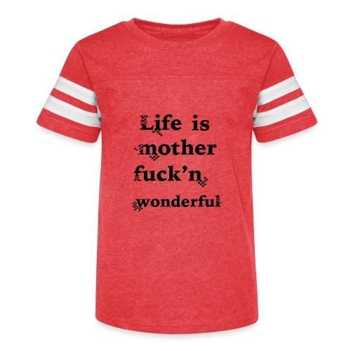 wonderful life - Kid's Vintage Sport T-Shirt