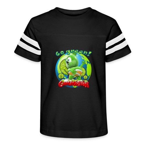 Gummibär Go Green Earth Day Earth - Kid's Vintage Sport T-Shirt