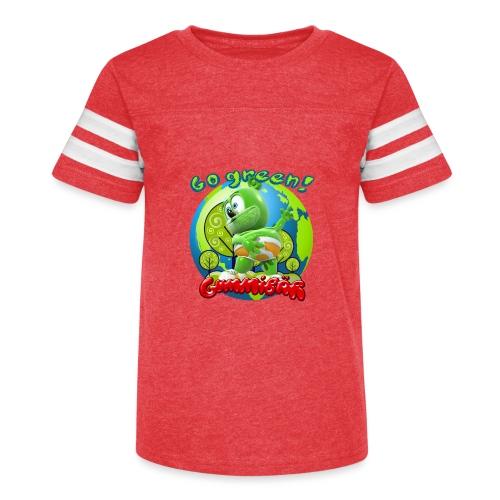 Gummibär Go Green Earth Day Earth - Kid's Vintage Sport T-Shirt