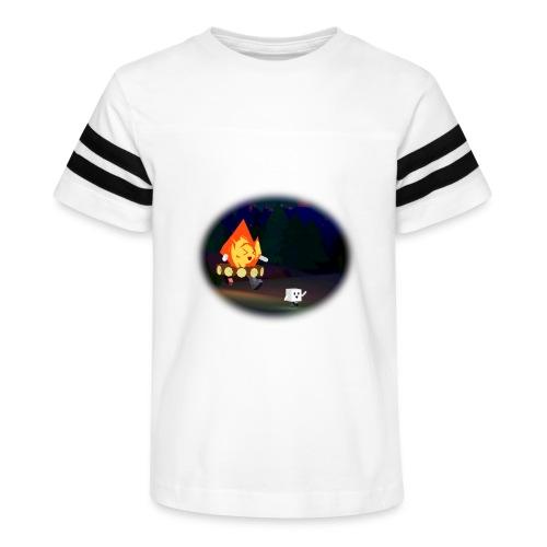 'Round the Campfire - Kid's Vintage Sport T-Shirt