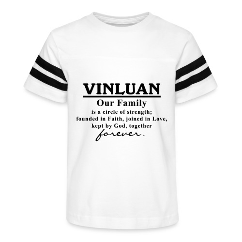 Vinluan Family 01 - Kid's Vintage Sport T-Shirt
