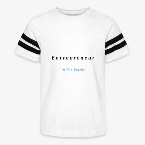 Entrepreneur In The Works - Kid's Vintage Sport T-Shirt