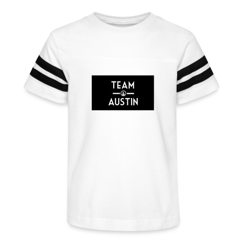 Team Austin Youtube Fan Base - Kid's Vintage Sport T-Shirt