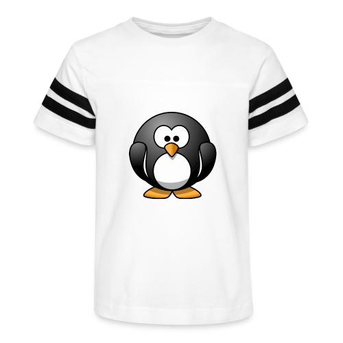 Funny Penguin T-Shirt - Kid's Vintage Sport T-Shirt