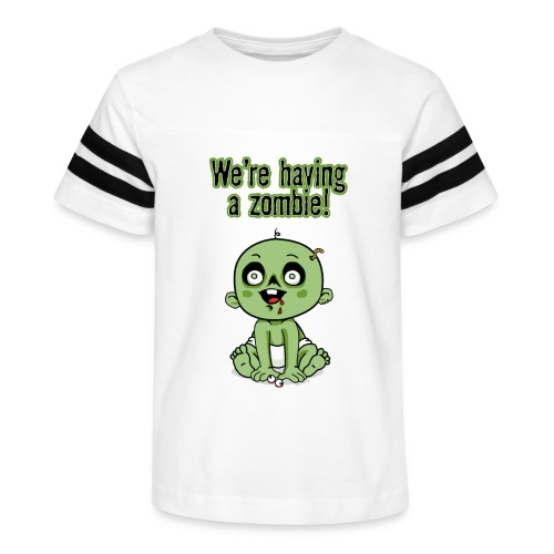 We're Having A Zombie! - Kid's Vintage Sport T-Shirt