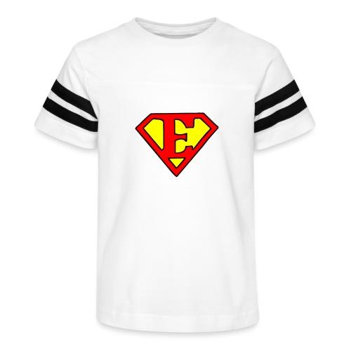 super E - Kid's Vintage Sport T-Shirt