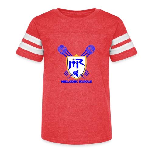 MelodikRukusRegalColor - Kid's Vintage Sport T-Shirt