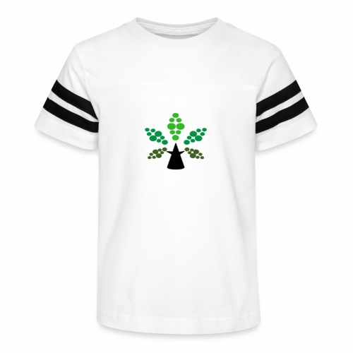 Tri City TriChomes FINAL LOGO 645AM 1 - Kid's Vintage Sport T-Shirt