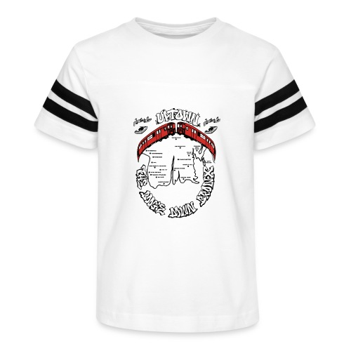 (artwork_195348) THE BOOGIE DOWN BRONX - Kid's Vintage Sports T-Shirt