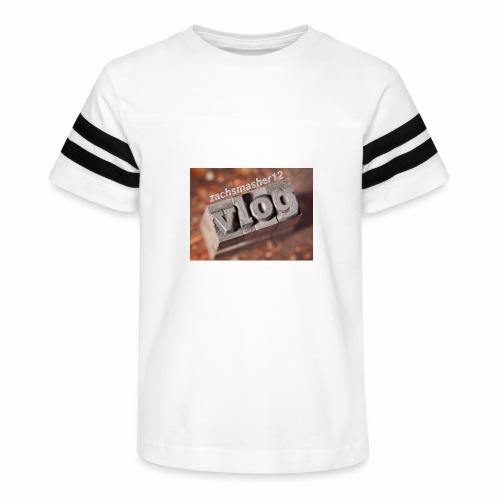 Vlog - Kid's Vintage Sport T-Shirt