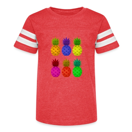 pineapples - Kid's Vintage Sport T-Shirt