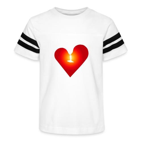 Loving heart - Kid's Vintage Sport T-Shirt