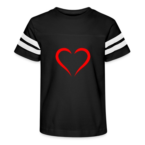 open heart - Kid's Vintage Sport T-Shirt