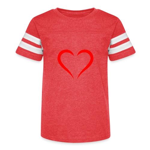 open heart - Kid's Vintage Sport T-Shirt