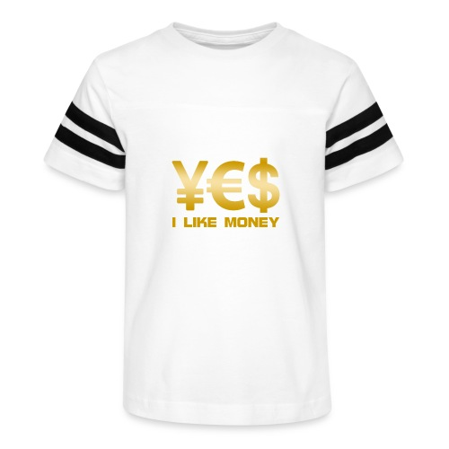 i like money - Kid's Vintage Sport T-Shirt