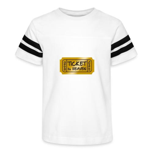 Ticket to heaven - Kid's Vintage Sport T-Shirt