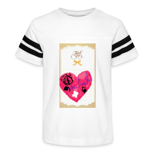 Heart of Economy 1 - Kid's Vintage Sport T-Shirt