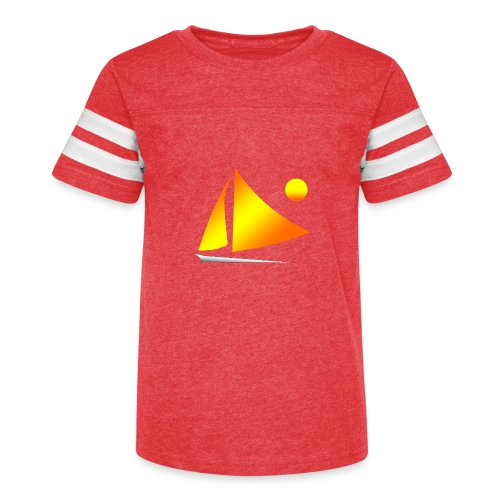 sailing - Kid's Vintage Sport T-Shirt