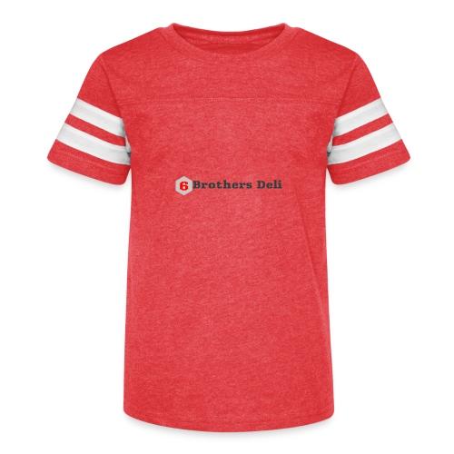 6 Brothers Deli - Kid's Vintage Sport T-Shirt