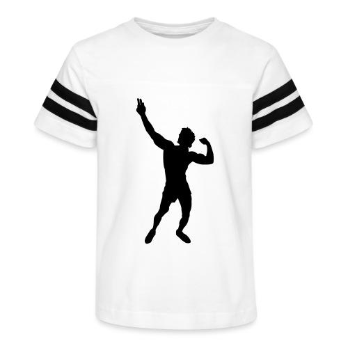 Zyzz Silhouette vector - Kid's Vintage Sport T-Shirt