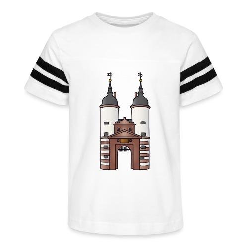 Bridge gate Heidelberg, FRG - Kid's Vintage Sport T-Shirt