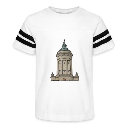 Mannheim water tower - Kid's Vintage Sport T-Shirt