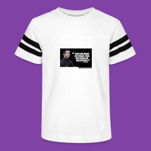 255777-Cristiano-ronaldo------quote-w - Kid's Vintage Sport T-Shirt