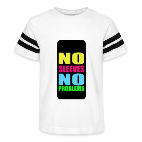 neonnosleevesiphone5 - Kid's Vintage Sport T-Shirt