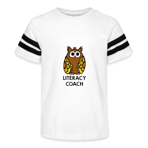 literacy coach png - Kid's Vintage Sport T-Shirt