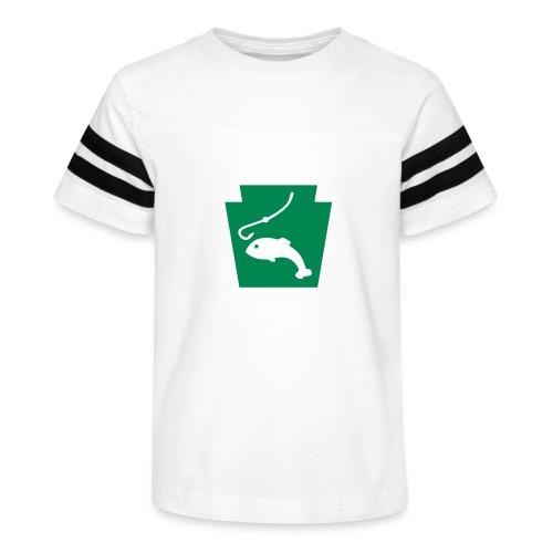 Pennsylvania Fishing Keystone PA - Kid's Vintage Sport T-Shirt