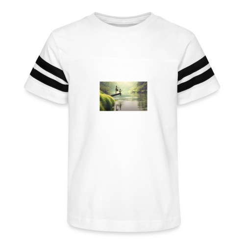 fishing - Kid's Vintage Sport T-Shirt