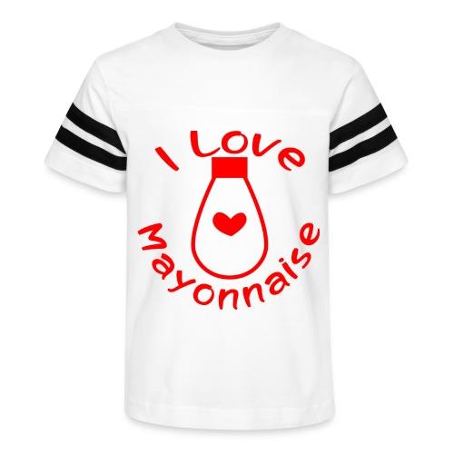 I Love Mayonnaise - Kid's Vintage Sport T-Shirt