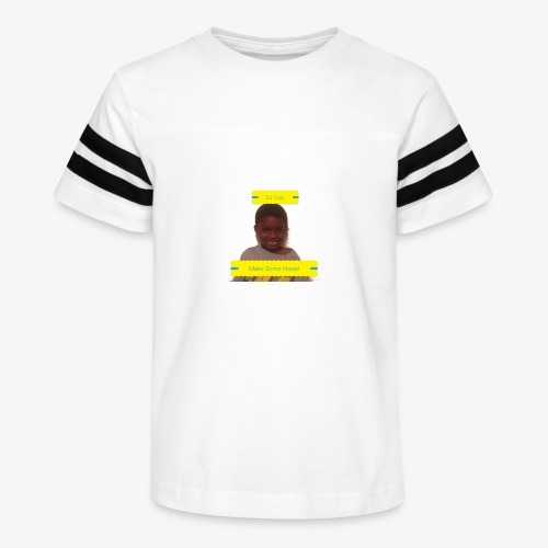 CJ Toys Make Some Noise! - Kid's Vintage Sport T-Shirt