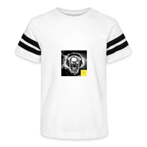 skull - Kid's Vintage Sport T-Shirt