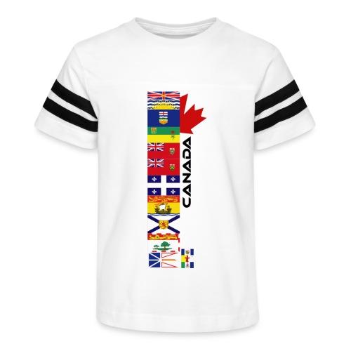 Canadian Provinces - Kid's Vintage Sport T-Shirt