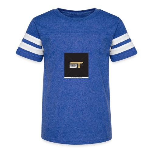 BT logo golden - Kid's Vintage Sport T-Shirt