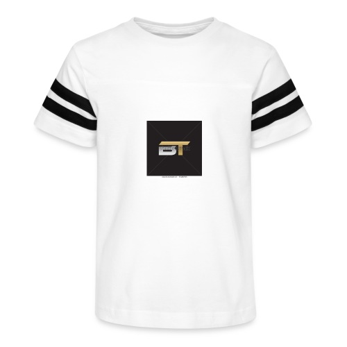 BT logo golden - Kid's Vintage Sport T-Shirt