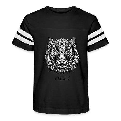 Stay Wild - Kid's Vintage Sport T-Shirt