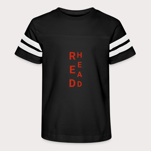 EE Red Head - Kid's Vintage Sport T-Shirt