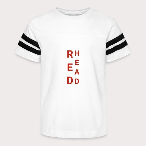 EE Red Head - Kid's Vintage Sport T-Shirt