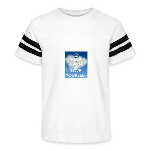 Keep calm and love yourself - Kid's Vintage Sport T-Shirt