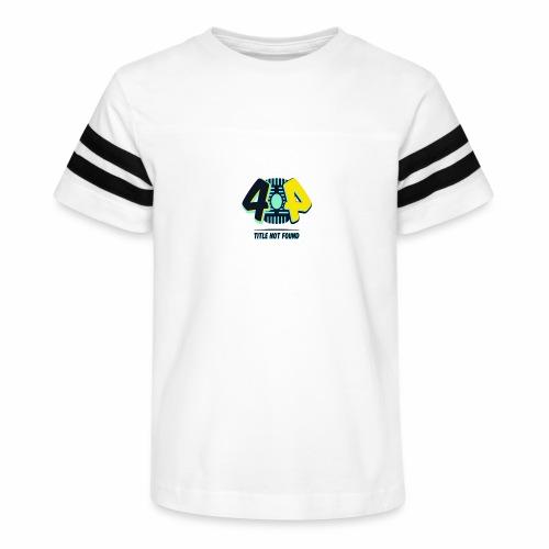 404 Logo - Kid's Vintage Sport T-Shirt
