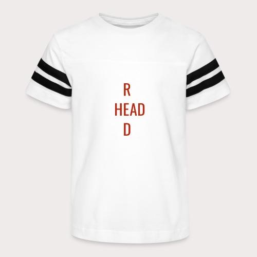 T Red Head - Kid's Vintage Sport T-Shirt