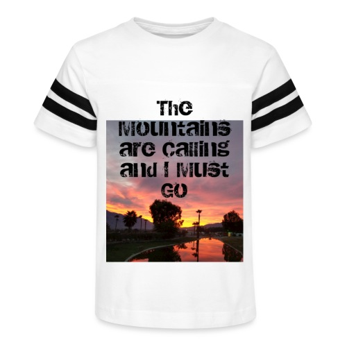 mountains - Kid's Vintage Sport T-Shirt